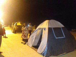 عکس/ اوضاع مردم قصرشیرین پس از زلزله