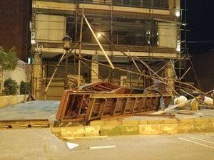 تصویری از خسارت زلزله در ارومیه