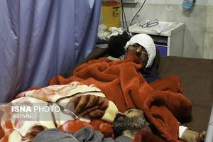 عکس/ مصدومین زلزله در بیمارستان اسلام آباد غرب