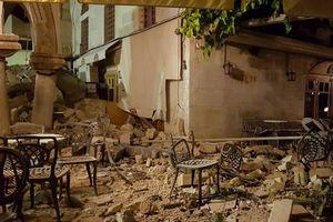 فیلم/ لحظه زلزله در یک قهوهخانه در سلیمانیه عراق