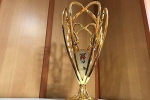 عکس/ رونمایی از کاپ قهرمانی سومین دوره جام شهدا
