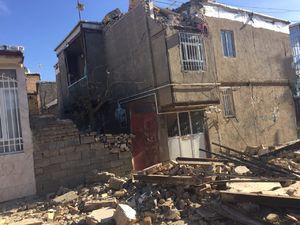 تصاویر جدید از خسارت زلزله در ثلاث باباجانی