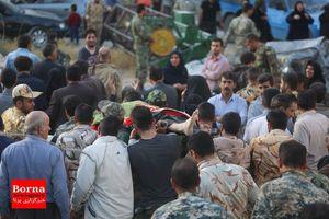 تصویری تلخ از منطقه زلزله زده سرپل ذهاب استان کرمانشاه