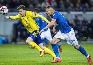 فوتبال ایتالیا را حذف کرد نه سوئد؛ حالاحالاها قید دیدن خوشتیپ های ایتالیا را در جام جهانی بزنید!