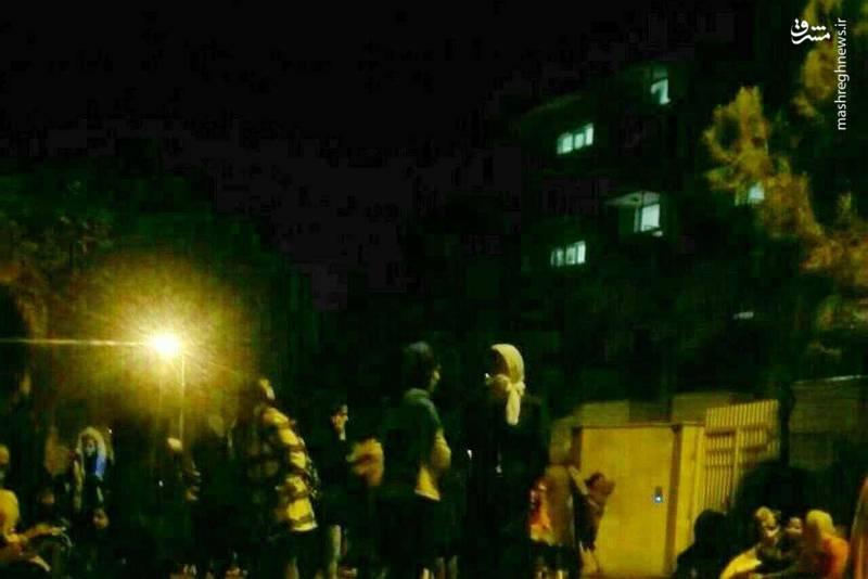 خوابگاه دختران دانشگاه آزاد ارومیه پس از زمینلرزه