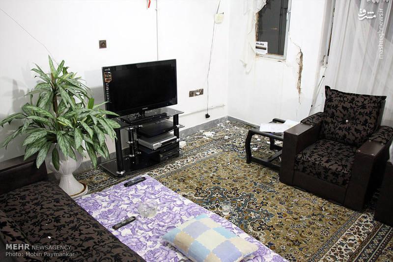 خسارات زلزله در سنندج