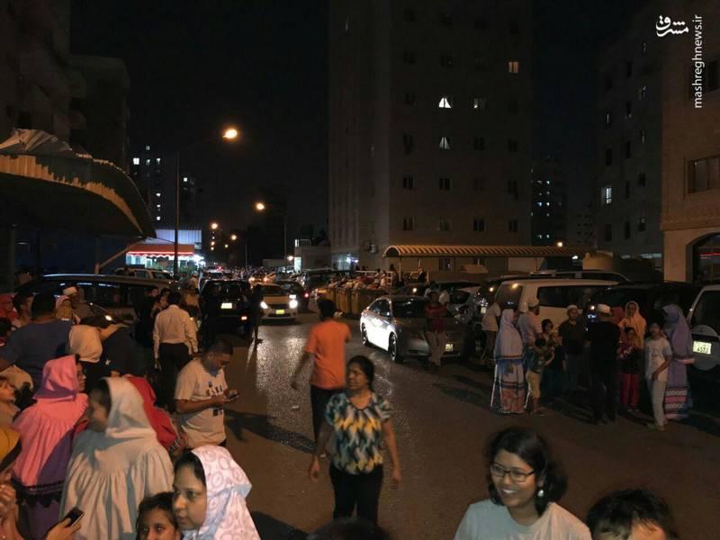 ترس و استرس مردم کویت پس از زلزله
