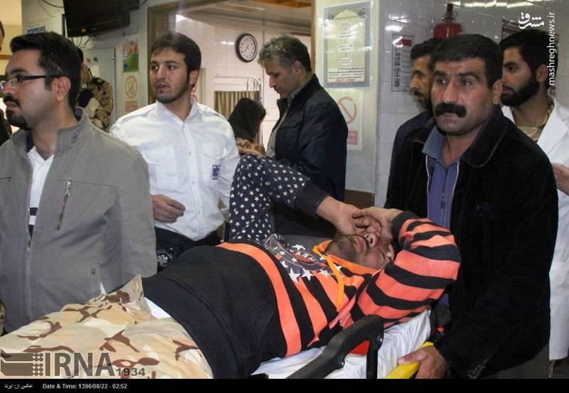 وضعیت مصدومان زلزله در قصرشیرین