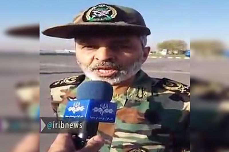 فیلم/ اظهارات فرمانده کل ارتش درباره زلزله کرمانشاه