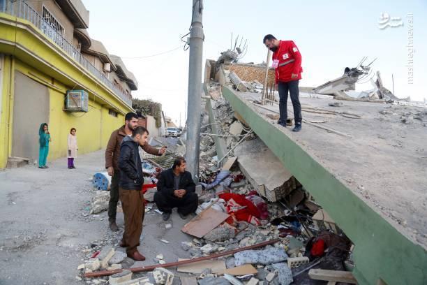 خسارات زلزله در سلیمانیه عراق