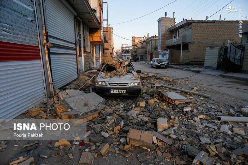 عکس زلزله سر پل ذهاب كرمانشاه زلزله کرمانشاه زلزله امروز حوادث کرمانشاه