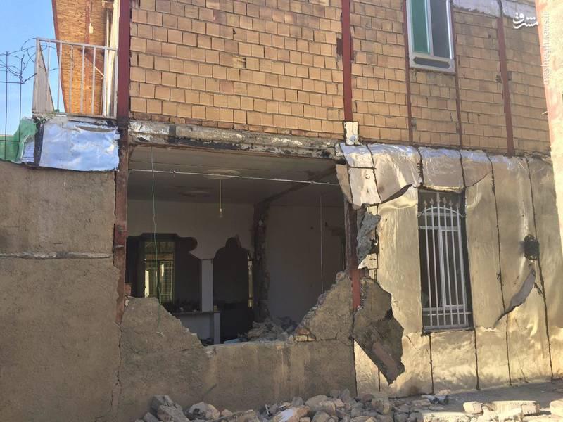 عکس زلزله زلزله کرمانشاه زلزله امروز حوادث کرمانشاه اخبار ثلاث باباجانی