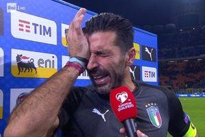 عکس/ چهره بوفون پس از حذف ایتالیا