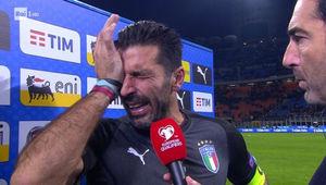 فیلم/ اشک های بوفون پس از خداحافظی از فوتبال