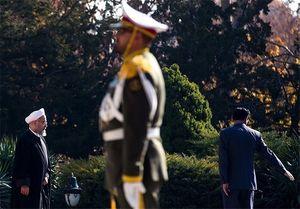استقبال فرمانده نیروی زمینی ارتش از روحانی