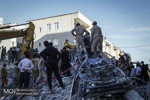 سرپل ذهاب یک روز پس از زلزله