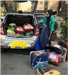 عکس/ کمک رسانی کیمیای تکواندو به زلزله زدگان