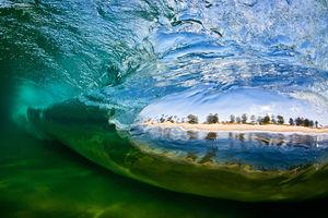 تصاویر شگفت انگیز از موج های دریا