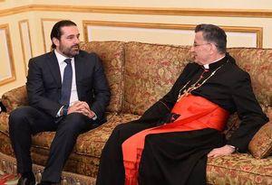 عکس/ دیدار سعد حریری با اسقف لبنانی در ریاض