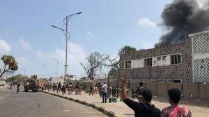 حمله انتحاری در بندر عدن یمن