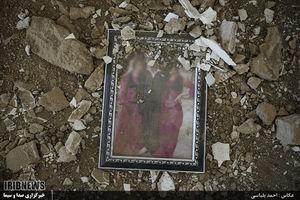 قاب خاطرات زیر آوار زلزله کرمانشاه
