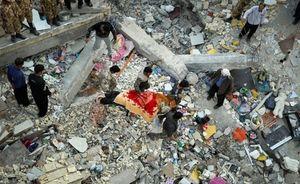 علیرغم تب و تاب ملی برای کمک به زلزلهزدگان آوار دروغ، سنگینتراز آوار مصیبت