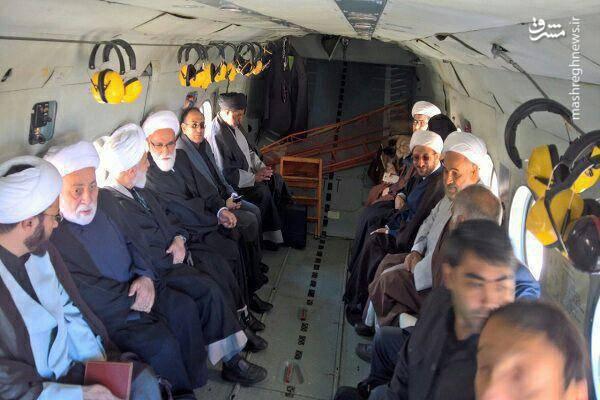 عکس/ اعزام هیئت ویژه از سوی رهبر انقلاب به کرمانشاه
