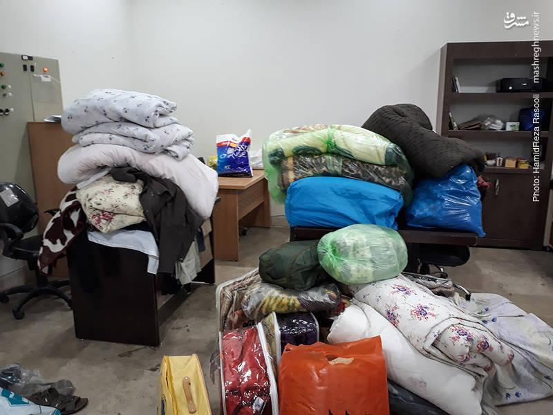 کمکهای مردم تهران به زلزلهزدگان کرمانشاه