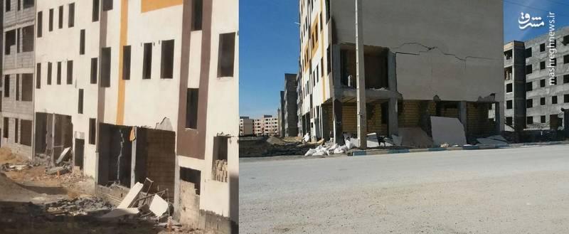 اگر مسکن مهر «سرپلذهاب» نبود زلزله کرمانشاه چند قربانی میگرفت؟ +عکس