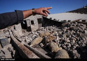 یک شهر زلزله زده