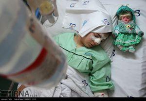 مصدومان زلزله کرمانشاه در بیمارستان میلاد