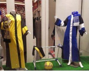 عکس/ لباس مخصوص زنان عربستانی برای تماشای مسابقات ورزشی!