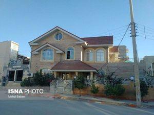 خانهای در سرپل ذهاب که زلزله تخریبش نکرد/حتی یک سنگ از بنای این خانه ترک نخورده است