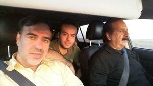 عزیمت کارگردان معروف به مناطق زلزله زده