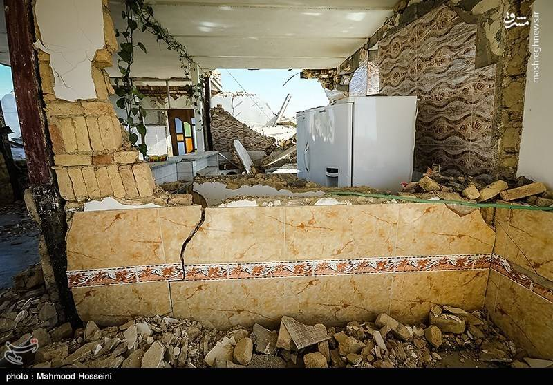 حکایت سرویس بهداشتی یک شهر زلزلهزده+عکس