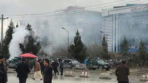 اولین تصاویر از انفجار خونین در کابل