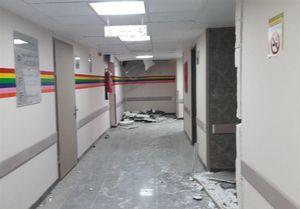 بیمارستان تازهساز اسلامآباد غرب پس از زلزله