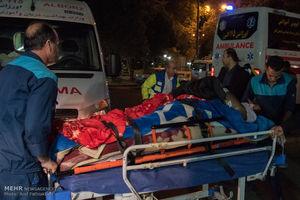 خدمات پزشکی به زلزله زدگان