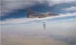 حمله بمبافکنهای راهبردی روسیه به مواضع تروریستها در شرق سوریه