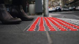 چراغهای جدید مخصوص عابر پیاده +عکس