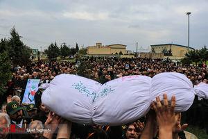 عکس/ تشییع شهید حبیب الله اسلامی در بیله سوار
