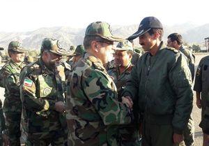 عکس/ جانشین فرمانده ارتش در سرپل ذهاب