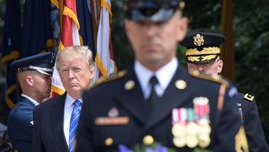 ارتش آمریکا و ترامپ