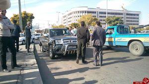 تیراندازی و درگیری مسلحانه در بلوار مرکزی قزوین +عکس و فیلم