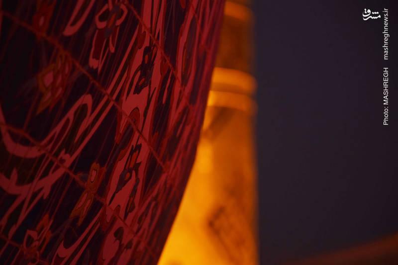 تصاویر زائران خارجی از حرمین مقدس کربلا