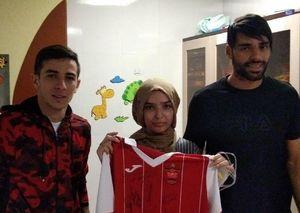 عکس/طارمی و احمدزاده آرزوی یک هوادار را برآورده کردند