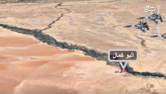 آمریکا زهرش را در شرق سوریه ریخت: جزئیات حملات شب گذشته جنگندههای آمریکایی به پایگاه جبهه مقاومت در البوکمال + نقشه میدانی