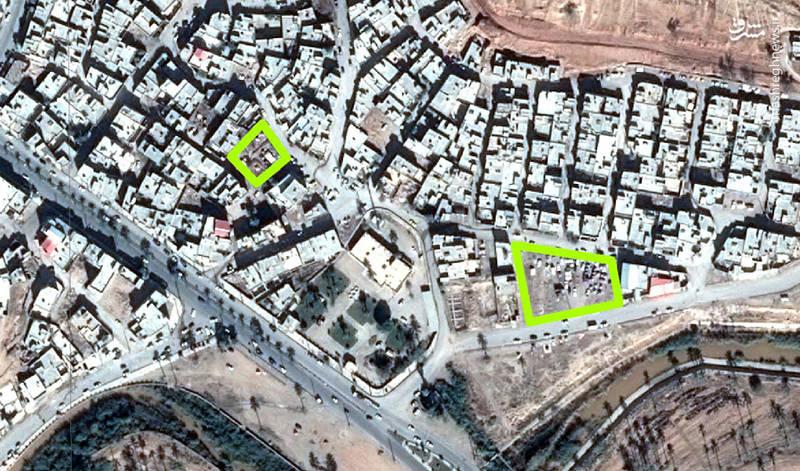 تصاویر ماهوارهای از قصر شیرین پس از زلزله