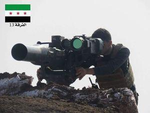 هلاکت کاربر مشهور موشک تاو تروریستها +عکس