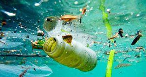 کشف یک توده عظیم زباله پلاستیک در اقیانوس اطلس
